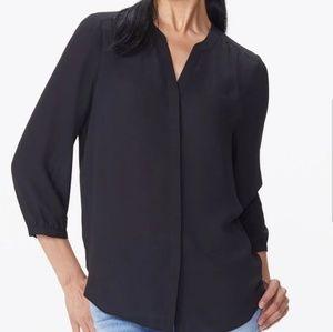 NYDJ pintuck blouse